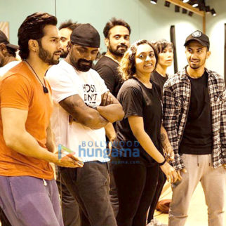 On The Sets Of The Movie Kalank