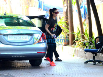 Kareena Kapoor Khan snapped post her gym session in Bandra