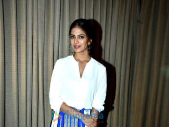 Malavika Mohanan and Ishaan Khatter promote their film 'Beyond the Clouds'