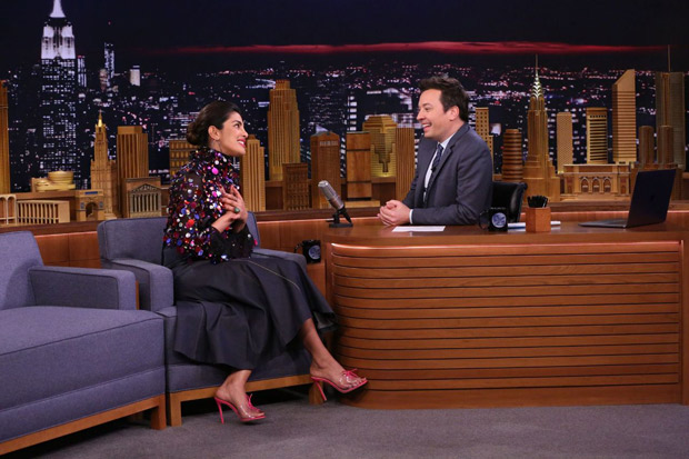 Priyanka Chopra makes her fourth appearance on The Tonight Show starring Jimmy Fallon