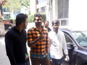 Prabhu Dheva snapped in Mumbai