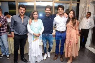 Shahid Kapoor, Mira Rajput, Karan Johar Ishaan Khatter, Malavika Mohanan and other grace the screening of Beyond The Clouds at YRF