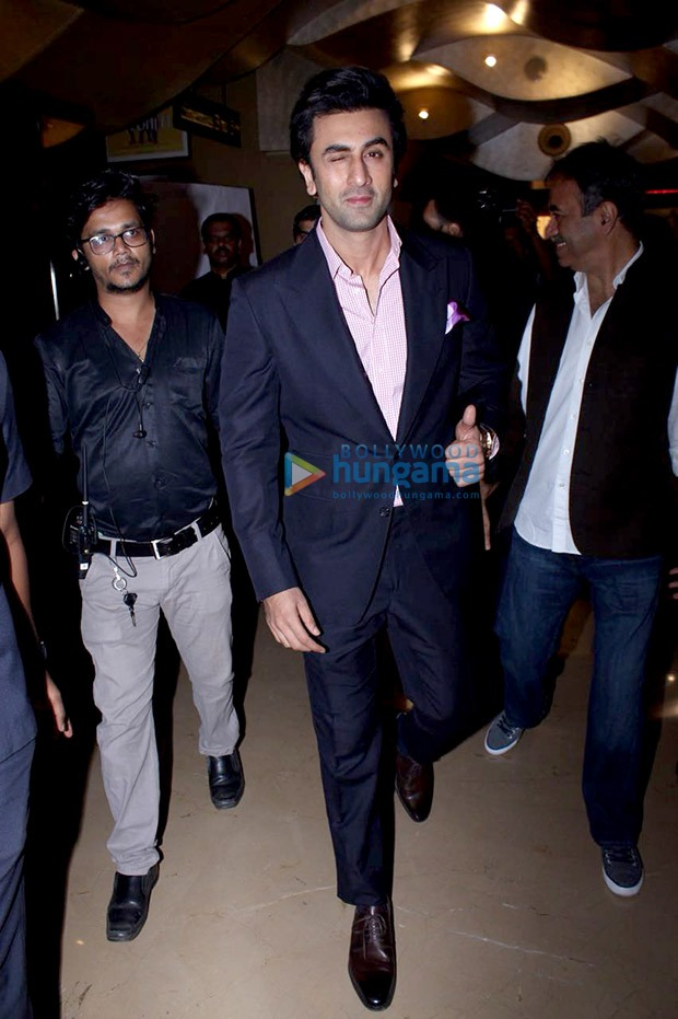 Simple but significant and dapper – This is how Ranbir Kapoor rolled at Sanju teaser launch!