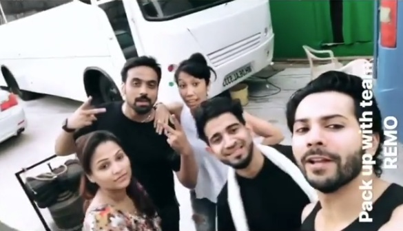 VIDEO: Varun Dhawan wraps up first song shoot of Kalank at wee hours on Sunday