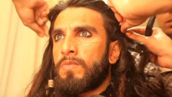 Watch the Behind the Scenes creation of Alauddin Khilji Padmaavat