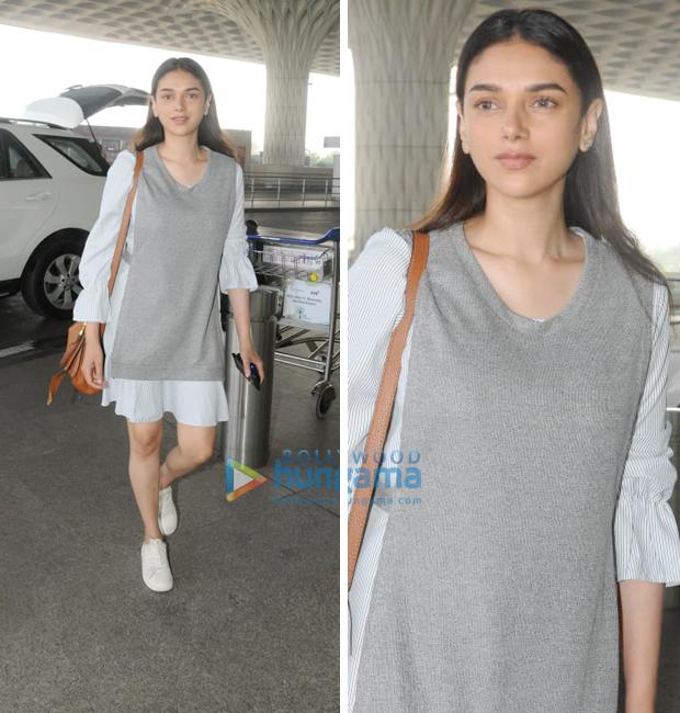 Weekly Airport Style - Aditi Rao Hydari