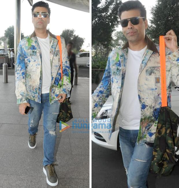 Weekly Airport Style - Karan Johar