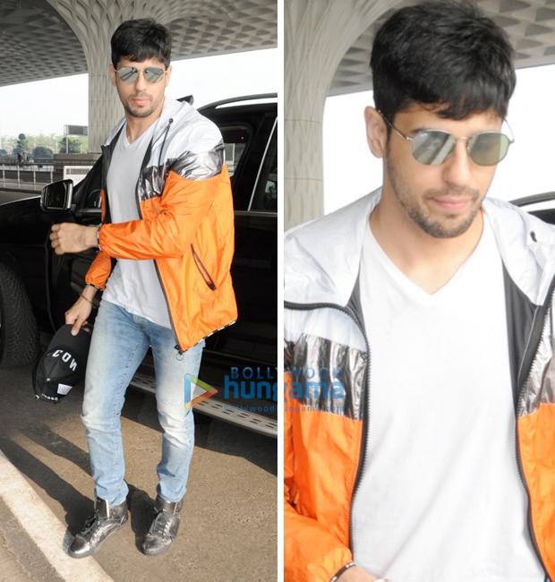 Weekly Airport Style - Sidharth Malhotra