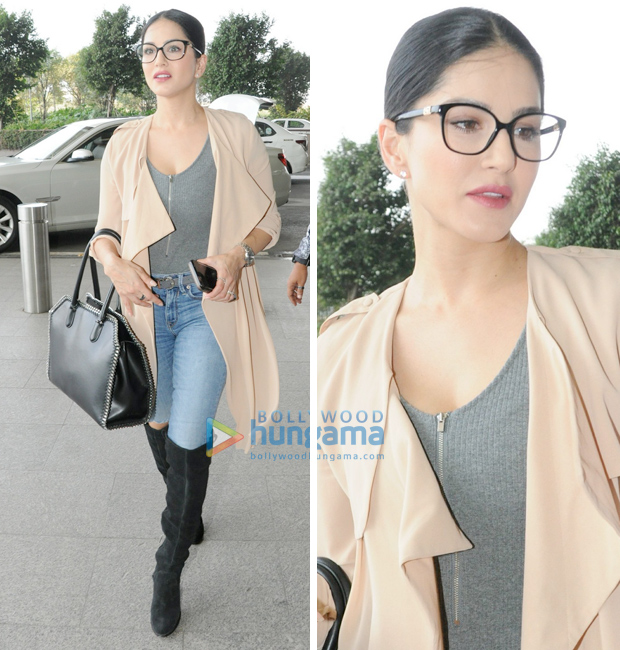 Weekly Airport Style - Sunny Leone