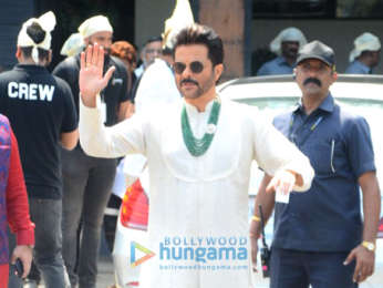 Anil Kapoor, Arjun Kapoor & others snapped attending Anand Ahuja-Sonam Kapoor's wedding