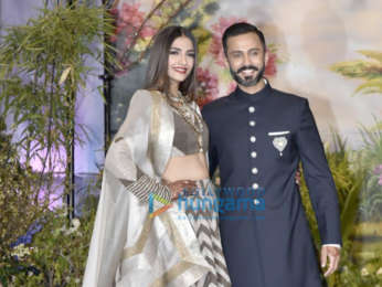 Celebs grace Sonam Kapoor and Anand Ahuja's wedding reception