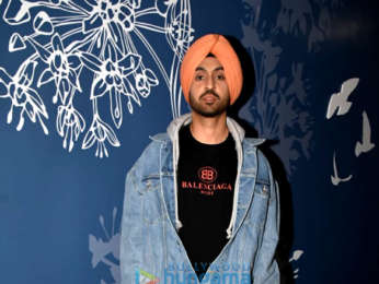 Diljit Dosanjh and Taapsee Pannu sanpped at the Sony Pictures preview theatre