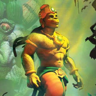 First Look Of The Movie Hanuman Vs Mahiravana