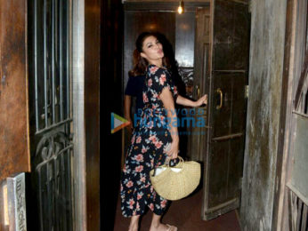 Jacqueline Fernandez snapped at Pali Bhavan