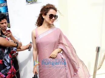 Kangana Ranaut snapped after watching Alia Bhatt's Raazi