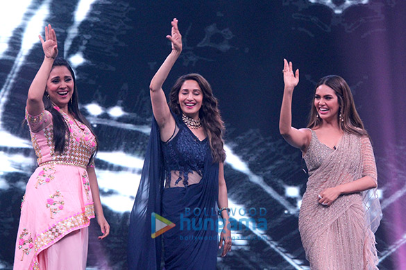 Madhuri Dixit snapped on the sets of High Fever