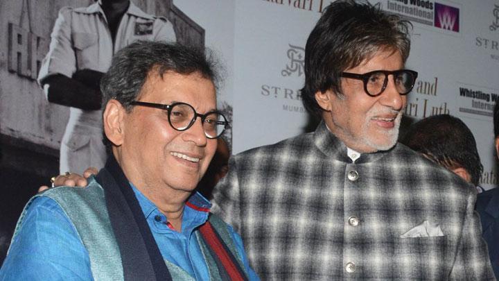 Megastar Amitabh Bachchan @Inauguration of Pradeep Chandra's Art Exhibition 'Frames 75'
