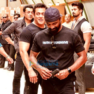 On The Sets Of The Movie Race 3