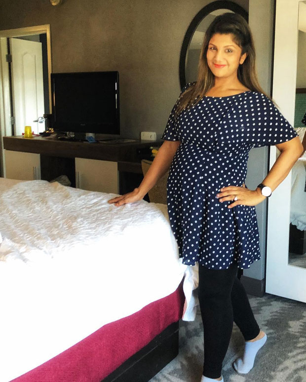 Here's how Judwaa actress Rambha proudly flaunted her BABY bump! (See pic)