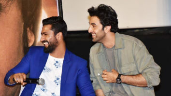 "Ranbir Kapoor ""I don't have any THARKI-NESS in me…"" Sanju Trailer Launch"