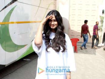 Rhea Kapoor snapped at Mehboob studio in Bandra