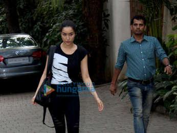 Shraddha Kapoor snapped in Mumbai