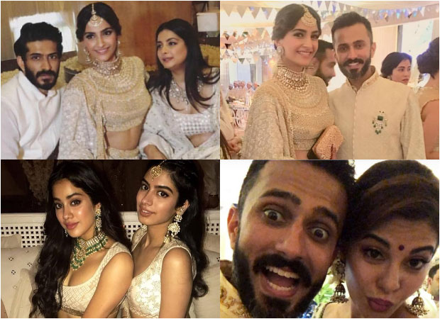 Sonam Kapoor's mehendi ceremony PICS OUT Anand Ahuja, Jacqueline Fernandez, Janhvi Kapoor, Khushi Kapoor get ready to party