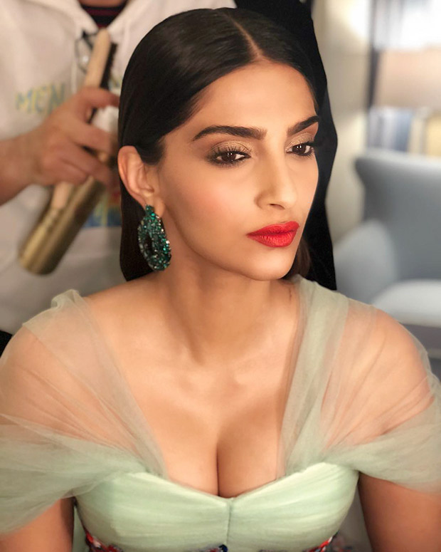 Sonam sports simple but significant makeup at Cannes 2018