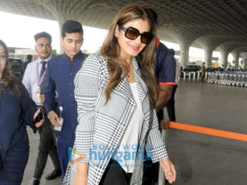 Sushant Singh Rajput, Suniel Shetty and Raveena Tandon snapped at the airport