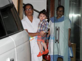 Taimur Ali Khan snapped in Bandra