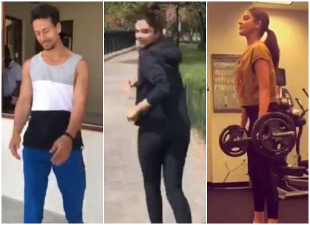 Deepika Padukone, Anushka Sharma, Tiger Shroff take on Rajyavardhan Rathore's Fitness Challenge
