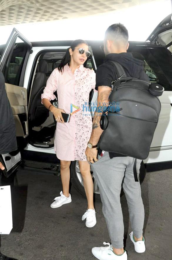 Anushka Sharma Snapped Dropping Virat Kohli At The Mumbai