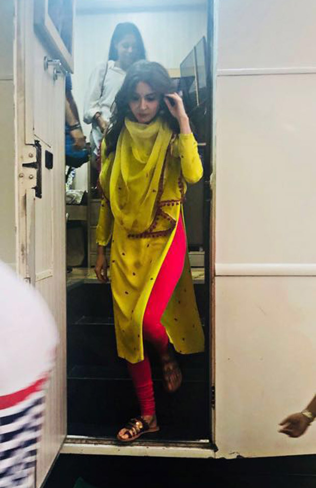 EXCLUSIVE: Anushka Sharma spotted shooting for a new brand campaign