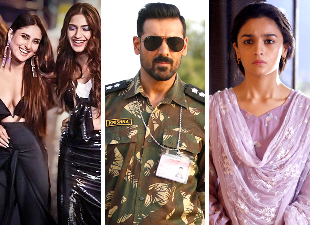 Box Office: Veere Di Wedding (Rs. 56.96 crore), Parmanu - The Story of Pokhran (Rs. 51.83 crore) and Raazi (Rs. 118 crore) add on to Bollywood's good run