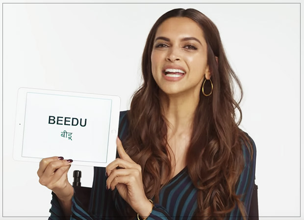 Deepika Padukone explains craziest HINDI SLANG words to Americans (check out pics and video)
