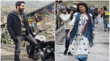 WATCH: Ayushmann Khurrana shares a sneak peek of his next single 'Chan Kitthan' with South actress Pranitha Subhash