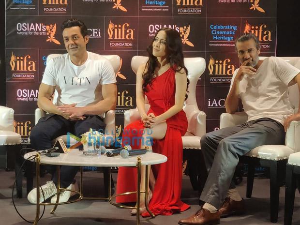 IIFA 2018: Bobby Deol and Urvashi Rautela celebrate Osian's new vision to preserve cinema heritage