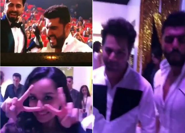 IIFA Rocks 2018: Karan Johar makes Arjun Kapoor and Varun Dhawan do Kareena Kapoor's Tareefan pout!