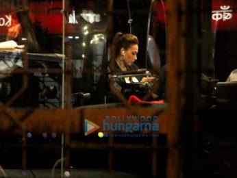 Iulia Vantur spotted at Tip & Toe in Juhu