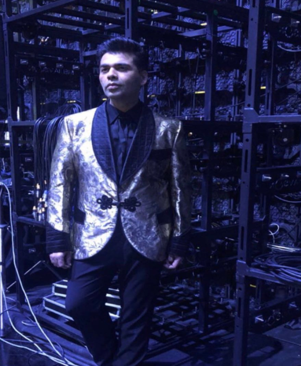 IIFA 2018 Awards: Karan Johar does it again, has yet another affair - this time he goes BOLD in GOLD!