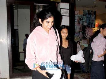 Khushi Kapoor snapped in Bandra