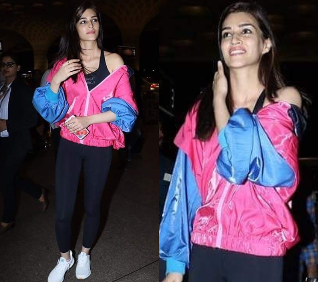 Kriti Sanon winked, smiled and brought in a whole lot of drama with her at IIFA 2018