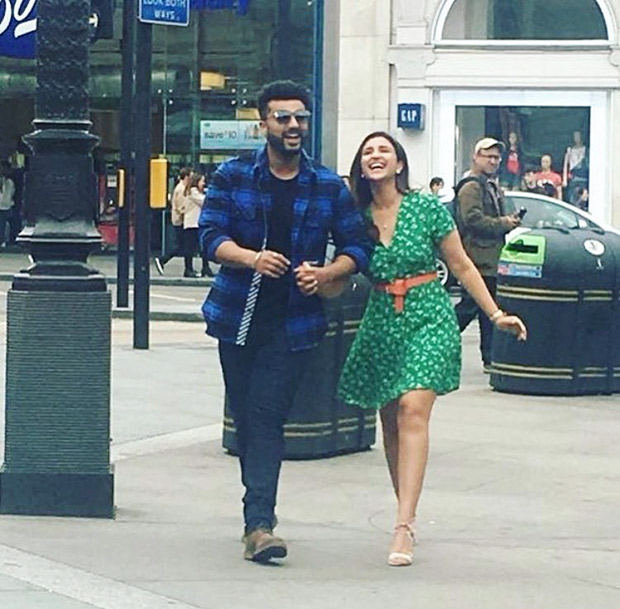 London Diaries: Arjun Kapoor and Parineeti Chopra can't stop pulling each other's legs on the sets of Namaste England