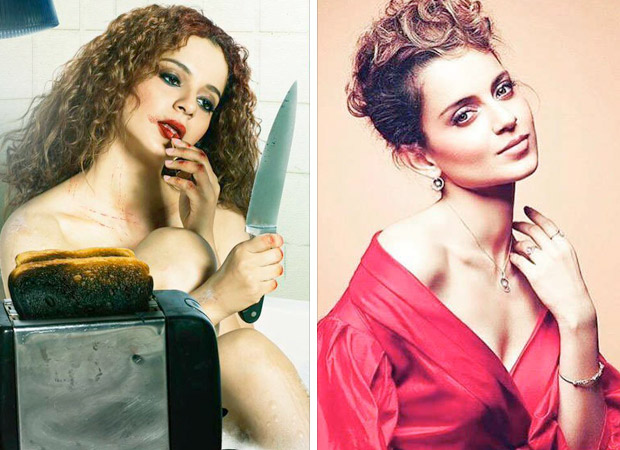 REVEALED: Kangana Ranaut sports yet another look for Mental Hai Kya and this time it is QUIRKY and STYLISH! [see pic]