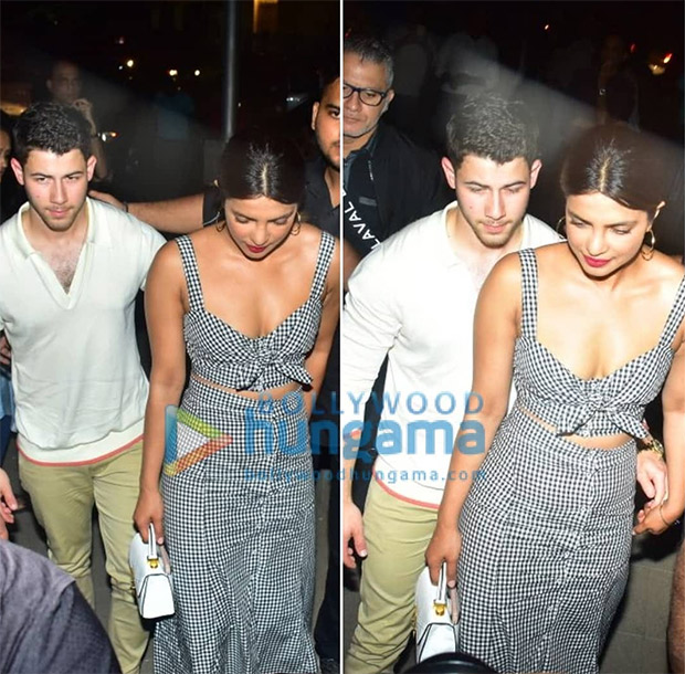 ROMANTIC! Priyanka Chopra and Nick Jonas HOLD HANDS while going on dinner date; Nick makes it Instagram official