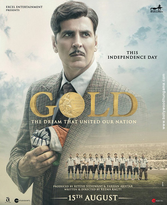 Release date of Akshay Kumar starrer Gold announced with a new poster
