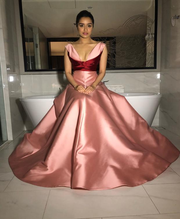 IIFA Awards 2018: Lo Behold! Shraddha Kapoor looks every bit of a Disney princess in pink!