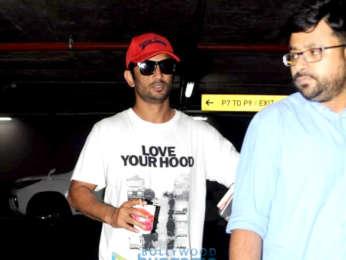 Sushant Singh Rajput and Sophie Choudry and others snapped at the airport