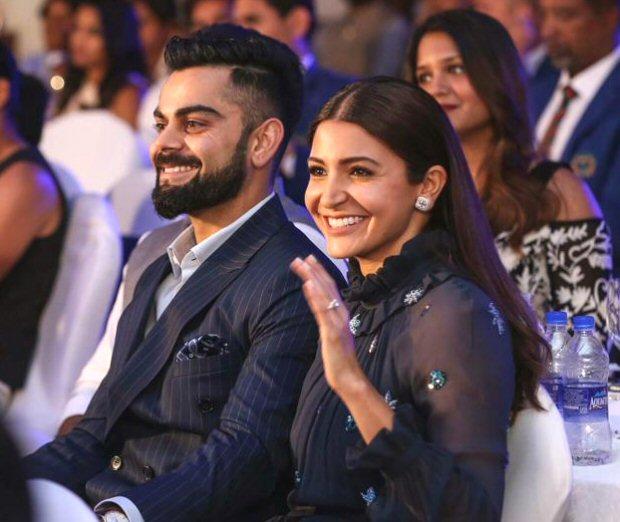 Virat Kohli wins Cricketer of the Year award, dedicates it to wife Anushka Sharma (see ALL pics)