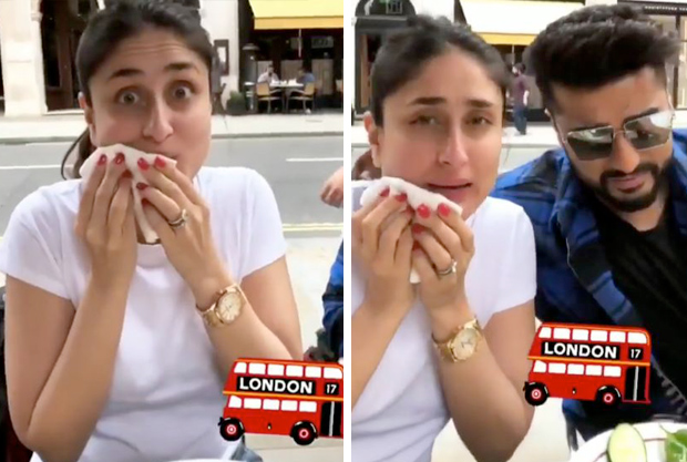 WOAH! Kareena Kapoor Khan caught CHEATING on her diet, gorges on pizza and terms it as a salad